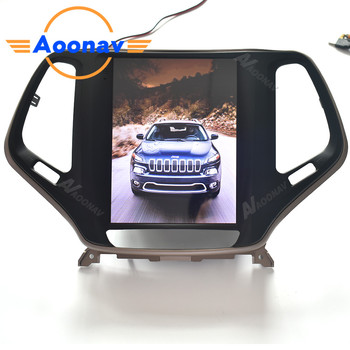 AOONAV Car HD touch screen radio multimedia player For-JEEP Cherokee 2015-2017 car autoradio stereo GPS navigation head unit image