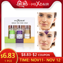 MIXDAIR 3pcs/set Facial Serum Essence Nicotinamide Whitening Essence 24K Gold Serum Oligopeptide Repair Skin Treatment Skin Care