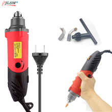 цена на EU 240W Mini Electric Drill 6 Position Variable Speed Dremel Rotary Tools Mini Die Grinder For Grind Ceramic Metal Power Tool