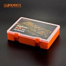 Стартовый набор DFRobot для начинающих, для Arduino DFRduino UNO R3, с 20 компонентами и 15 картами для обучения детей