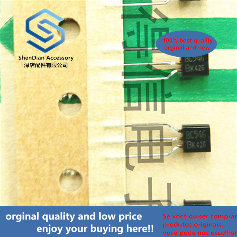 30pcs 100% Orginal New BC546B BC546 TO-92 Amplifier Transistors Real Photo