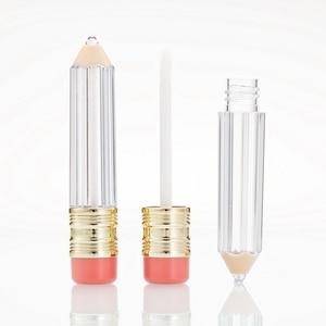 Image 1 - Wholesale Empty Lipgloss tube bottles Container Empty Lip Gloss Tube Bottle  Lip Tube Lipstick Containter Tubes Makeup Bottles