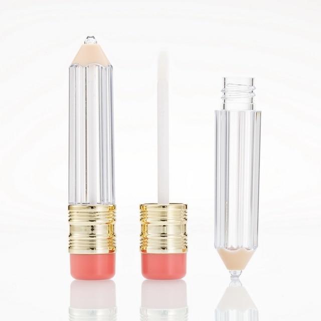 Wholesale Empty Lipgloss tube bottles Container Empty Lip Gloss Tube Bottle  Lip Tube Lipstick Containter Tubes Makeup Bottles