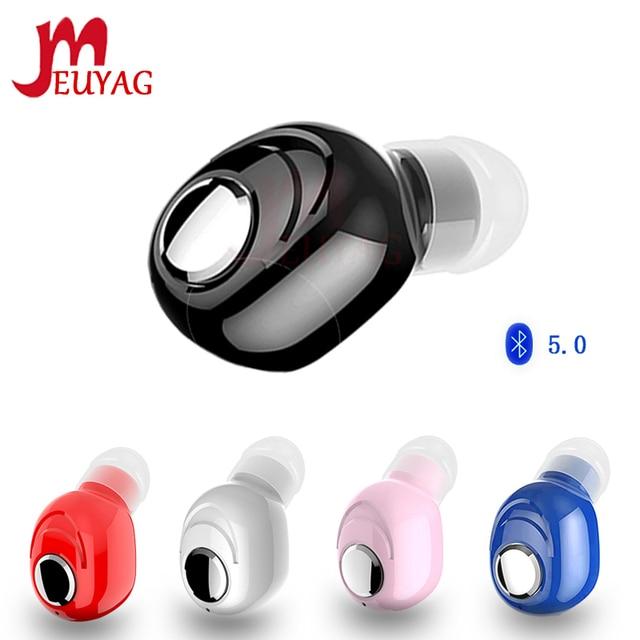 MEUYAG новые мини Bluetooth наушники, беспроводные наушники, гарнитура с микрофоном, спортивные наушники вкладыши для iPhone, Samsung