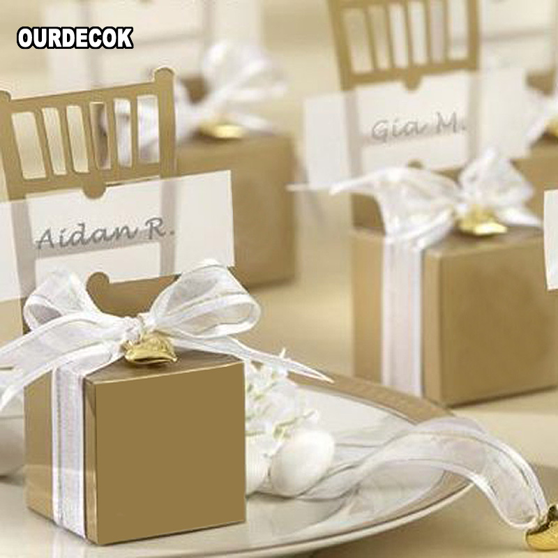 50X Peacock Feather Boxes Drawer Design Wedding Favors Kraft Paper Gift Boxes H