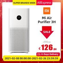 Xiaomi Mijia – purificateur d'air Mi 3H, stérilisateur avec ajout de formaldéhyde, lavage, nettoyage Intelligent, filtre Hepa, application intelligente, WIFI