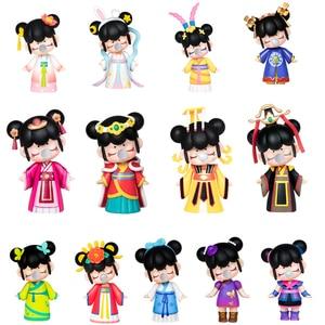 Image 1 - Robotime Nanci Blind Box China Style Character Model Action Figure for Girls Birthdays Gift