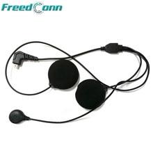 Freedconn T-COM vb sc colo rc T-MAX T-REX microfone de fone de ouvido macio para capacete bluetooth interfone frete grátis!
