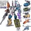 Transformation Bruticus 5IN1 G1 PT05 PT 05 Oversize 27CM Anime Action Figure Robot Kids Toys Combination Deformation Collection