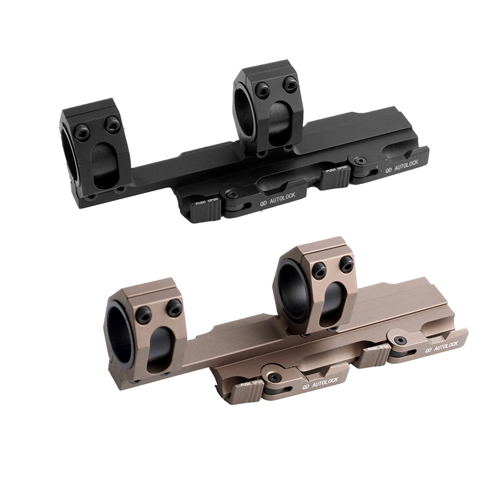 Hunting Optics Ring Mount Cantilever Rifle Scope Mount Optics Rifle Base Mounts