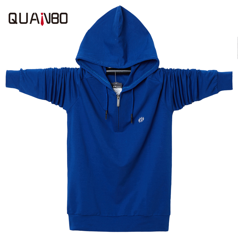 Big Size 5XL 6XL New Arrival Men Sweatshirts Fashion Hooded Autumn Loose Hoodies Top Quality Comfortable Men's Clothing Tops