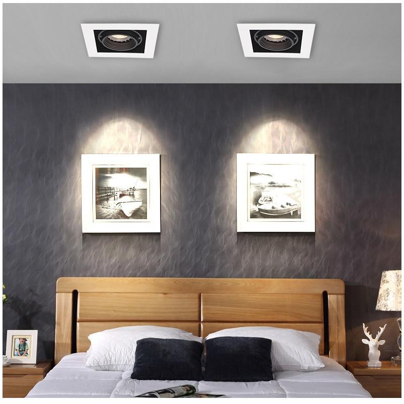 Luminária de teto embutida para sala de