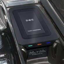 Auto Draadloze Oplader Voor Volvo XC90 Nieuwe XC60 S90 V90 Qi 18 2019 Speciale Mobiele Telefoon Opladen Plaat Auto Accessoires v60 2020 S60