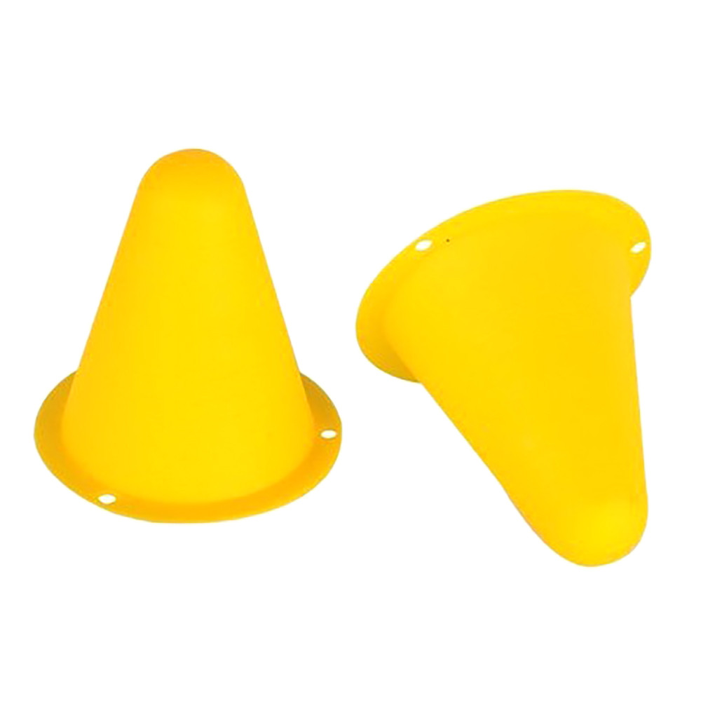 20pcs Agility Maker Cones For Slalom Roller Skating Training Traffic Cone Sports Flash Wheel Accessories