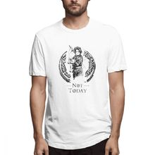 Men T-Shirts Summer Mens Short Sleeve T-shirt Casual Cotton What Do We Say To The God printing t shirt men tee Fun 5XL