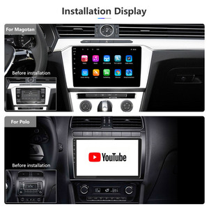 Image 5 - Universal 10นิ้ว/9นิ้ว2din Android 8.1รถวิทยุ1080P TouchระบบนำทางGPS Bluetooth Wifi SWC DAB FM AMกระจกเชื่อมโยงOBD 2