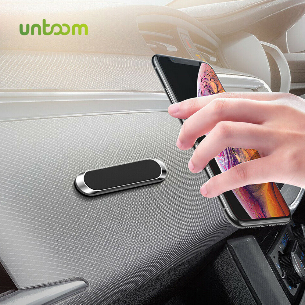 Untoom Magnetic Car Phone Holder For Phone Redmi In Car Magnet Cell Phone Stand Mount Universal Dashboard Car Mount For Wall