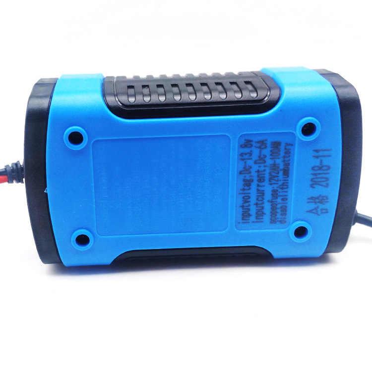 12V 6A Pin Tự Động Người Bảo Trì Di Động Thông Minh Pin Axít Chì Công Suất Sạc Adapter Dành Cho Ô Tô Xe Tải Xe Ô Tô