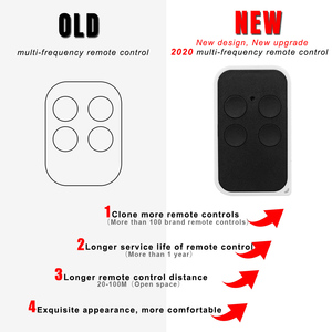 Image 2 - 433MHz clone remote control for 433.92 287 868mhz Garage door gate remote control rolling fixed code handheld transmitter