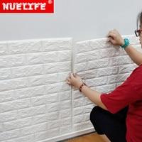 3d wall stickers wallpaper self adhesive bedroom nursery wall decoration waterproof stickers brick wallpaper for kids room