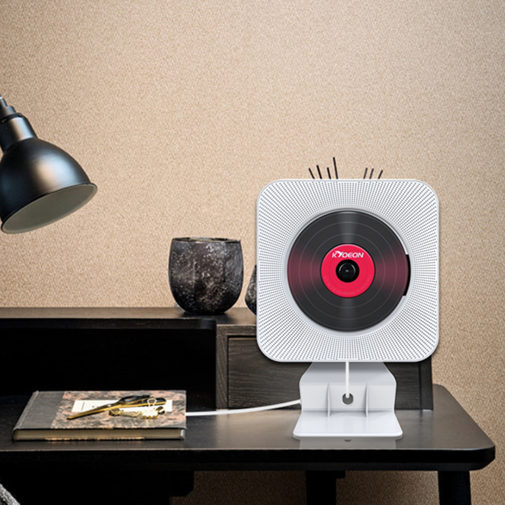Lecteur CD Bluetooth mural sans fil Hifi interrupteur à tirer haut-parleur Soundbox Kit de télécommande