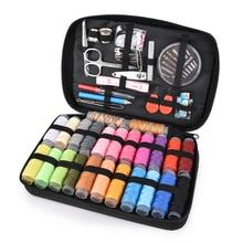 Sewing Box Kit DIY Needlework Tools Thread Needles Scissor Tailoring Tape Storage Portable Travel Sewing Box Kitting Tools
