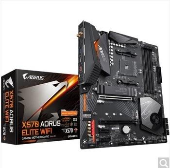 X570 AORUS ELITE WIFI motherboard +R5 5600X/R7 5800X/R9 5900X CPU motherboard+CPU set
