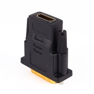 Image 2 - DVI 24+1 Convert Gold Plated Male to HDMI Female 1080P HDTV Adapter Converter