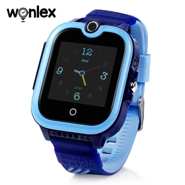 Wonlex KT13 inteligentne zegarki dzieci 4G HD połączenie wideo GPS smart-zegarek dziecko wodoodporna kamera SOS Anti-Lost zegarek z lokalizatorem urodziny prezent