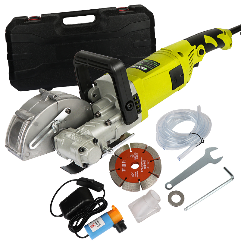 4000W 220V Electric Wall Chaser Groove Slotting Machine Brick Wall Cutting Machine Steel Concrete Cutter Circular Saw Power Tool