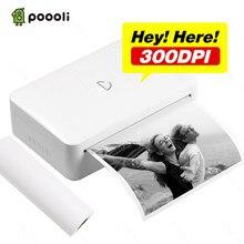 Imprimante thermique portative 300mm Bluetooth Mini Notes mémo sans fil 110 dpi imprimante thermique de poche