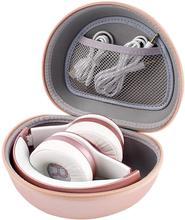 Étui pour écouteurs Picun P26 / Beats Solo3 / 2 / iJoy Matte/Elecder i39, oreillettes intra-auriculaires plus pliables, Bluetooth (étui uniquement)