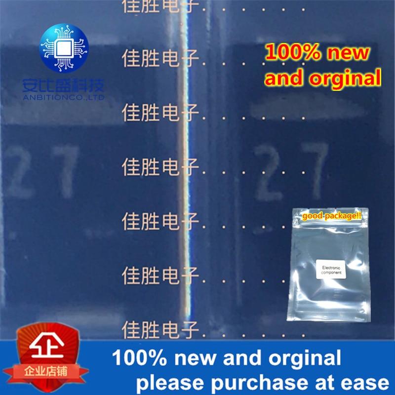 50pcs 100% New And Orginal  RD27 DO214AC Silk-screen 27 In Stock