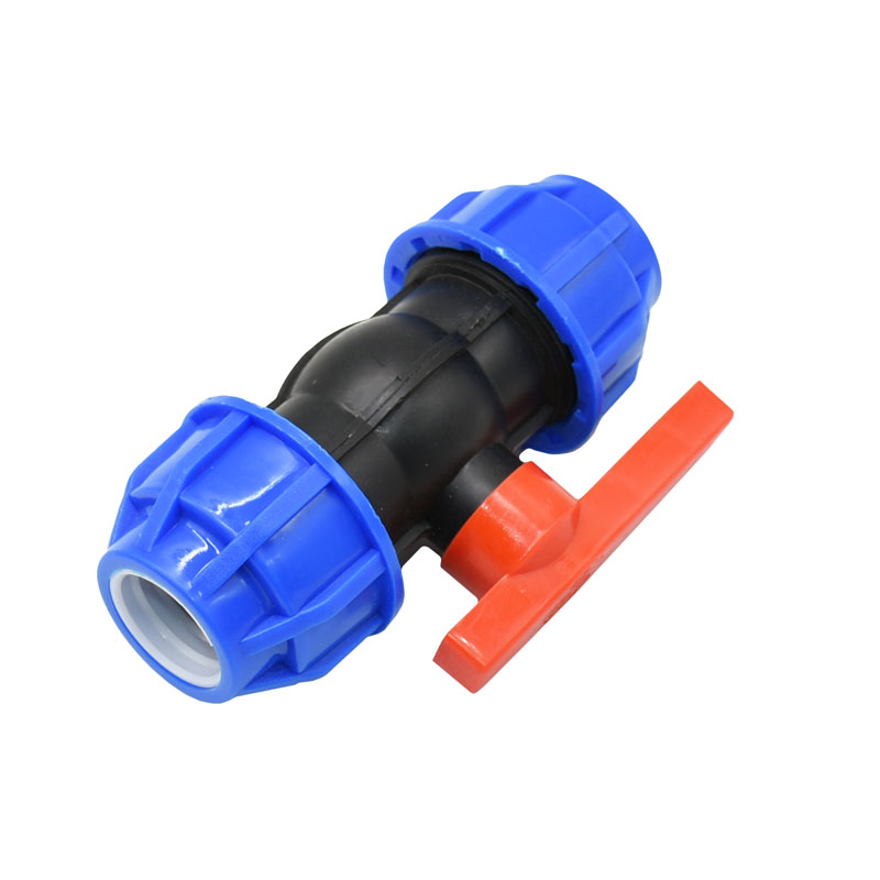 Color : 32MM 1pcs PVC PE PPR DN25 Water Pipe Ball Valve 1 Water Control Valve Water Tap Connector Fittings