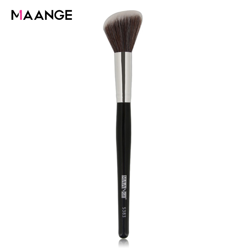 MAANGE 1Pcs Angled Blush Makeup Brush Contour Blusher Face Cheek Nose Loose Power Foundation Cosmetic Make Up Brushes Tools New