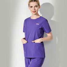 Interesting Description Of Separate Set Of Hand Washing Clothes In Europe And America Women's Brush Handwear Short-sleeved Surgi