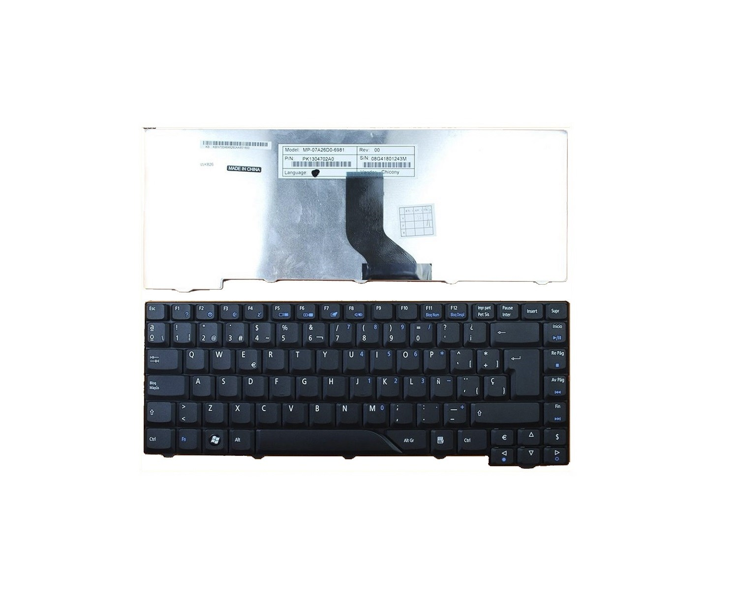 New Keyboard Skin Cover Protector for Toshiba Satellite P870 P870D P875 P875D