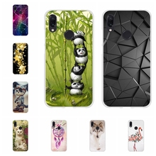 For Xiaomi Redmi 3 3s Case Soft TPU Silicone Note 4 4X 7 Pro Cover Cartoon Patterned Go Shell