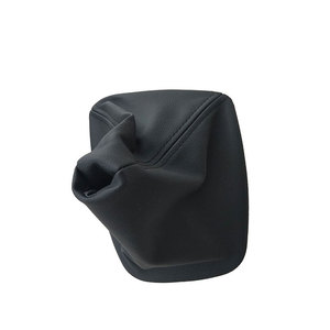 Image 3 - Car Shift Gear Stick Manual Shift Boot Black Leather Boot With Frame For BMW E30 E36 E39 E46 E81 E82 E87 E88 E90 E91 E92 E93