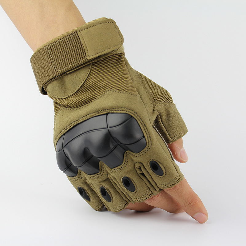 Free Shipping,sales Half Fingers Gloves,men Quality Motorbiker Gloves.Pro Tactical Glove.combat Protective Glove