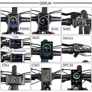 Image 4 - Bafang 48 в 1000 Вт BBSHD/BBS03B 40т Средний диск ручной Электрический миксер для теста BB 68 73 мм велосипедные комплекты для конверсии 8FUN для е байка мощный мотор Дисплей