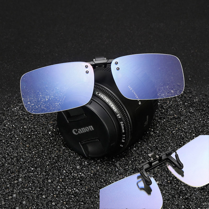 Anti & Block Blue Light Filter Cover Glasses Clip-on Computer Gaming Video Eyeglasses Lightweight Relieve Eye Fatigue Unisex