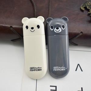 1Pc Cute Bear Correction Tape 5mm*3m Kawaii Cartoon Correction Tape For Kids Girls Gifts School Stationery Correction Supplies(China)