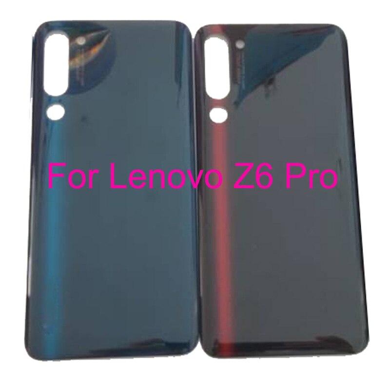 Cep telefonları ve Telekomünikasyon Ürünleri'ten Cep telefonu yuvası'de 100% orijinal Lenovo Z6 Pro Z6 L78051 pil arka arka kapak kapı konut LenovoZ6 Pro onarım parçaları değiştirme title=