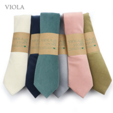 Suit Tie Pink Cravat-Accessory Gift Navy Velvet Wedding-Party Solid-Necktie Vintage Blue