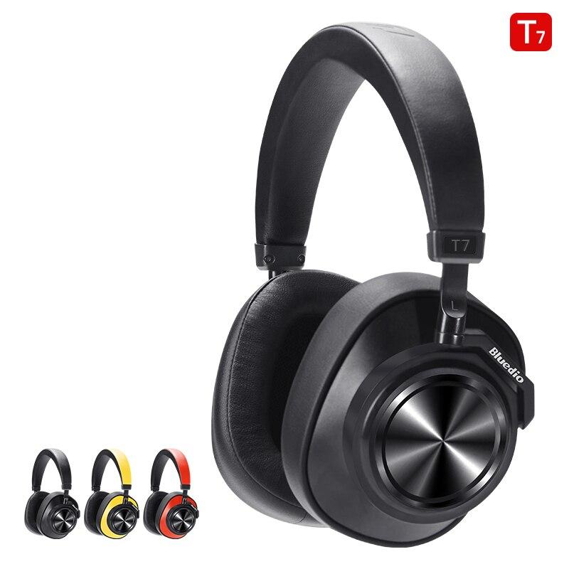Casque Bluetooth 5.0 casque sans fil à suppression de bruit actif défini par l'utilisateur pour la musique des téléphones avec reconnaissance faciale