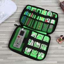Travel Gadget Cable Organizer Storage Bag Electronic Cable Pouch Case USB Charger Power Bank Holder Digitals Kit Bag