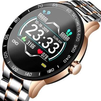LIGE 2020, nuevo reloj inteligente para hombres, pantalla a Color, frecuencia cardíaca, presión arterial, modo multifunción, smartwatch deportivo, rastreador de fitness