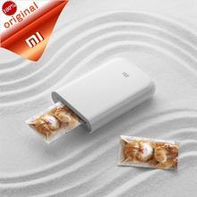 Xiaomi Mi AR Drucker 300dpi Tragbare Foto Mini DIY teilen Bluetooth AR video druck 500mAh tasche drucker mit mijia app