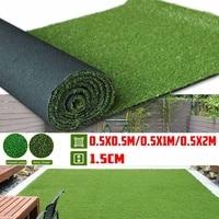 50-200cm Thickness Artificial Lawn Carpet Fake Turf Grass Mat Landscape Pad DIY Craft Outdoor Garden Floor Decor
